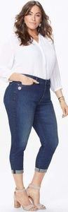 NYDJ Jeans - Nwt NYDJ Alina rolled cuff ankle jeans embroidered